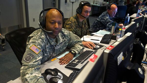 In April, the US Department of Defense made its first official announcement of using cyber capabilities for an offensive military operation against the Daesh. - Sputnik International