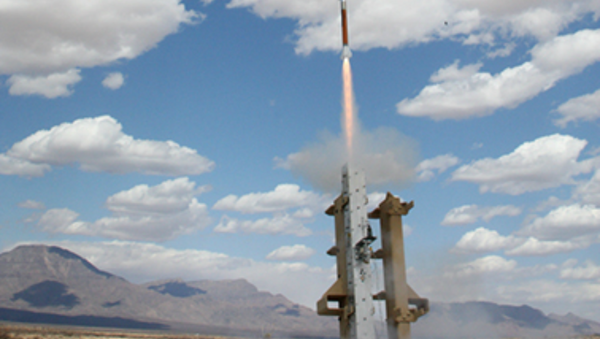 The Miniature Hit-to-Kill Interceptor is launched during tests conducted in May 2012 at White Sands Missile Range, N.M. - Sputnik International