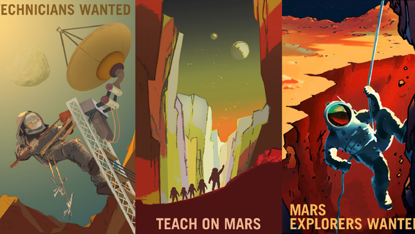 NASA Recruiting Kids to Send to Mars - Sputnik International