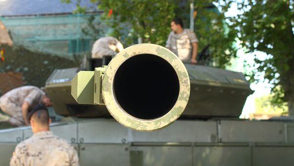 A tank gun - Sputnik International