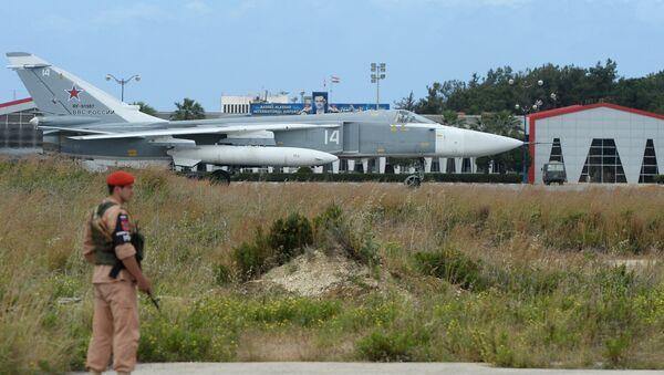 Hmeimim airbase in Syria - Sputnik International