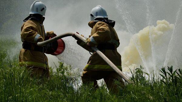 Firefighters. File photo - Sputnik International