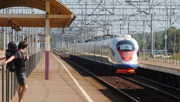 Sapsan high-speed train - Sputnik International