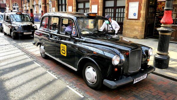 London, black cabs - Sputnik International
