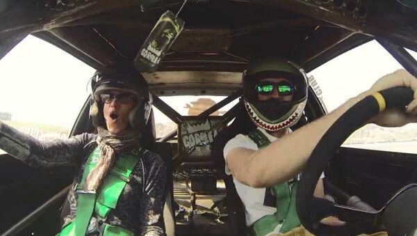 Mom Enjoys Son's 'Drifting' Ride-Along - Sputnik International