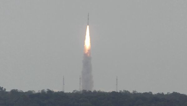 Launch of Satellite from the Satish Dhawan Space Centre (SDSC) in the Indian town of Sriharikota (file) - Sputnik International