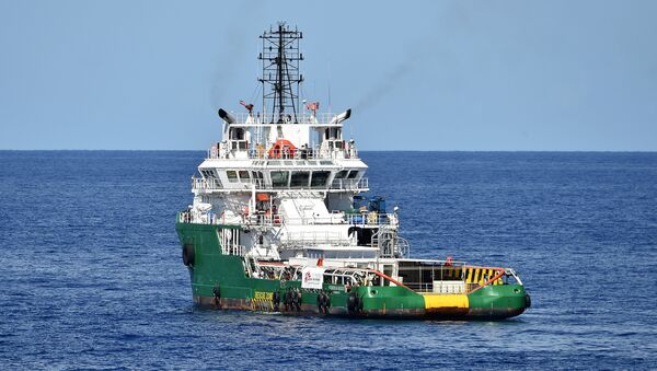 Medecins Sans Frontieres (Doctors Without Borders) ship Bourbon Argos in the Mediterranean Sea - Sputnik International