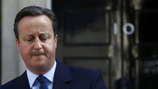 Britain's Prime Minister David Cameron speaks after Britain voted to leave the European Union, outside Number 10 Downing Street in London, Britain June 24, 2016 - Sputnik International