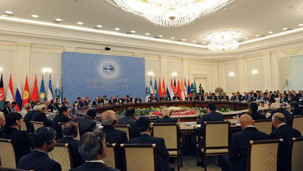 SCO summit in Tashkent - Sputnik International