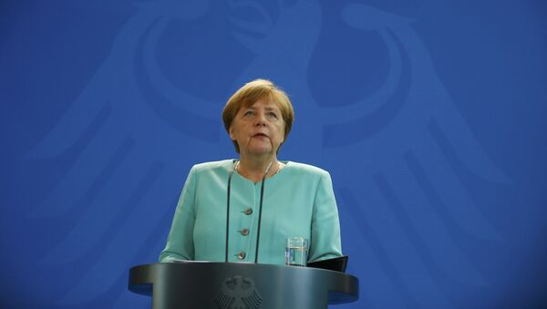 German Chancellor Angela Merkel gives a statement in Berlin, Germany, June 24, 2016, after Britain voted to leave the European Union in the EU BREXIT referendum. - Sputnik International