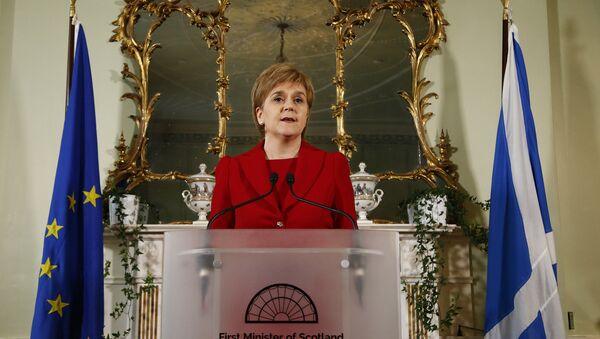 First Minister of Scotland Nicola Sturgeon - Sputnik International