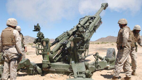 M777 howitzer - Sputnik International