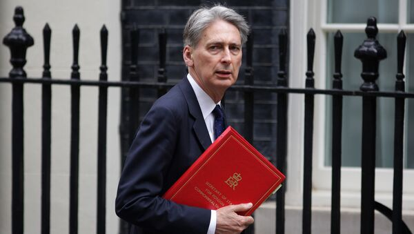 British Foreign Secretary Philip Hammond arrives in 10 Downing Street in central London on May 13, 2016 - Sputnik International