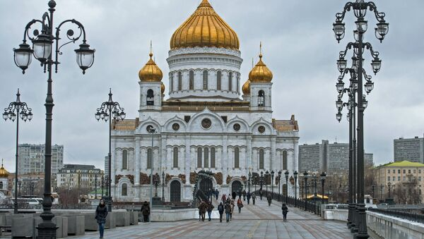 Cathedral of Christ the Savior in Moscow - Sputnik International