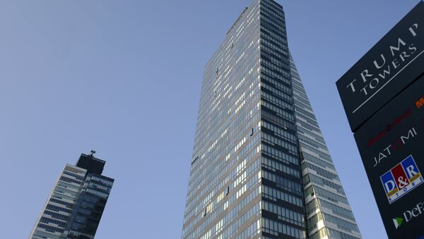 A photo taken on July 30, 2015 shows the Trump Towers building in Istanbul - Sputnik International