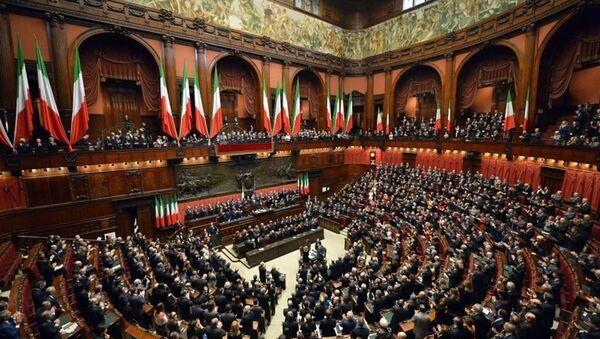 Italian parliament - Sputnik International