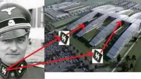 NATO Headquarters Design Mirrors Nazi SS Bolts - Sputnik International