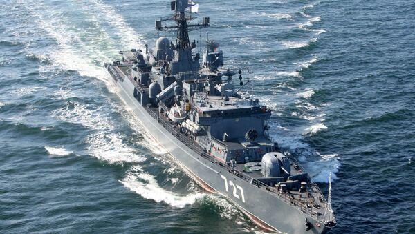 Russia's guard ship Yaroslav Mudry. File photo - Sputnik International