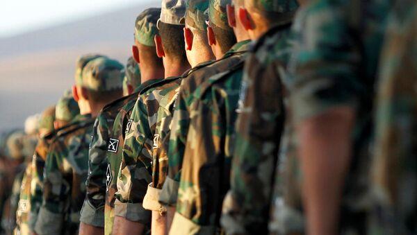 New Syrian army recruits - Sputnik International