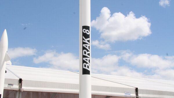 Barak-8 missile - Sputnik International