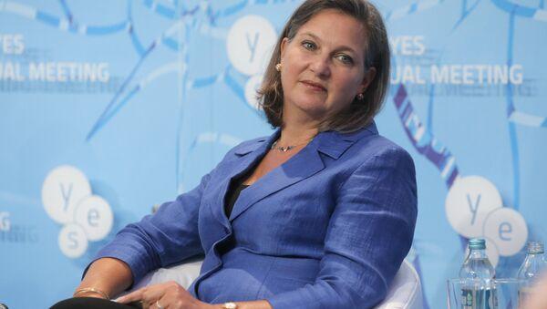 Assistant U.S. Secretary of State for European and Eurasian Affairs Victoria Nuland - Sputnik International