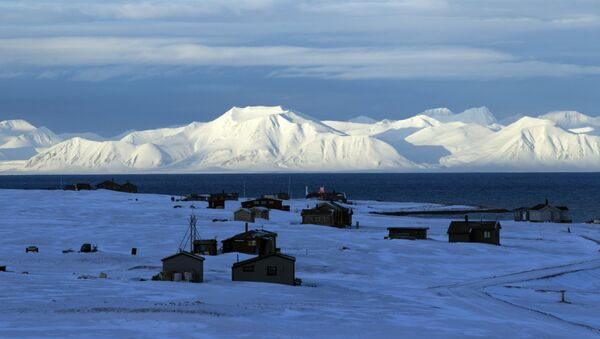 A general view shows the airport of the Norwegian town of Longyearbyen - Sputnik International