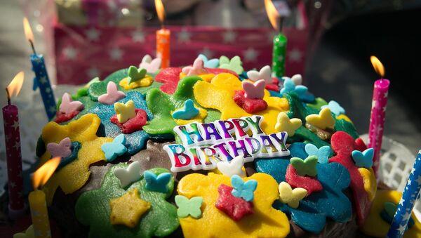 Birthday cake - Sputnik International