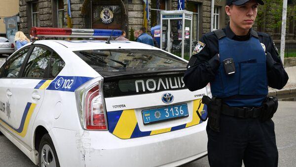 An officer of the Ukrainian police in Kiev. (File) - Sputnik International