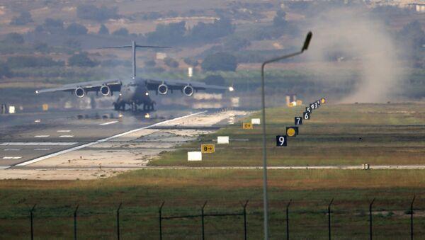 Incirlik Air Base, on the outskirts of the city of Adana, southern Turkey (File) - Sputnik International