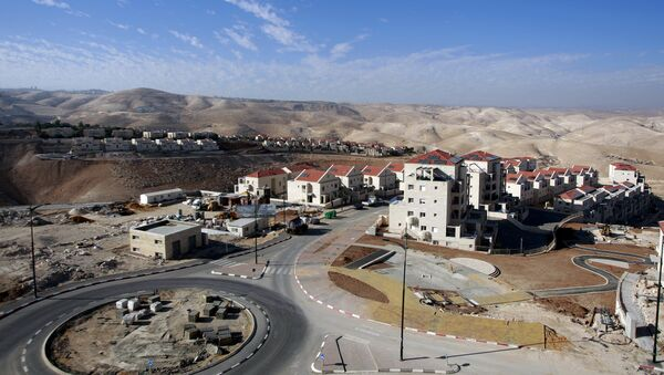 Part of the Jewish settlement of Maale Adumim, east of Jerusalem. Israel has approved 560 new homes for the West Bank settlement of Maale Adumim, a spokesman for the settlement said on July 4, 2016 in a move likely to raise tensions following a series of Palestinian attacks (File) - Sputnik International