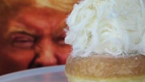 Donut Inspired by Donald Trump Spotted on Shelves in Australia - Sputnik International
