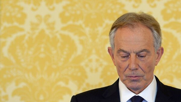 Former Prime Minister Tony Blair speaks during a news conference in London on July 6, 2016, following the outcome of the Iraq Inquiry report. - Sputnik International