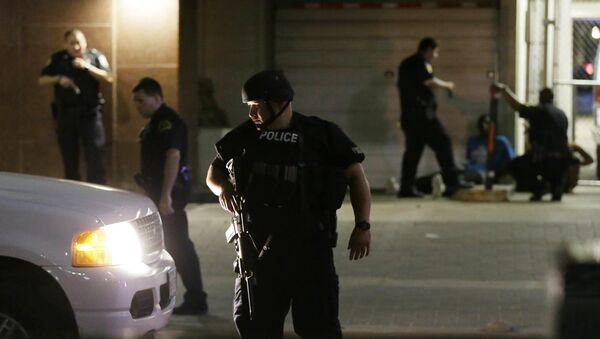 Police Shootings at Protest in Dallas - Sputnik International