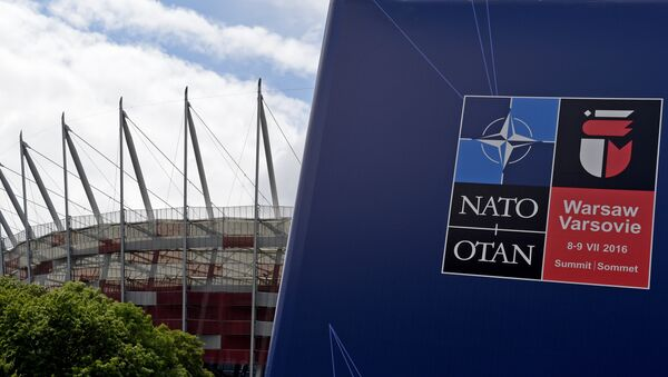 This picture shows the National Stadium in Warsaw, Poland, on July 7, 2016, the venue of the upcoming NATO summit - Sputnik International