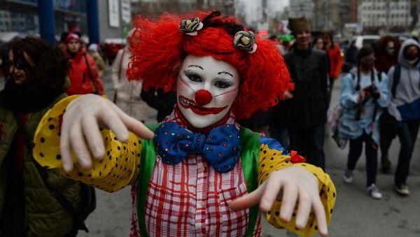 Halloween celebrated in Russian cities - Sputnik International
