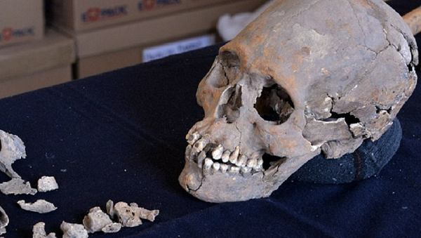Skeleton With Stone-Encrusted Teeth Found In Mexico Ancient Ruins - Sputnik International