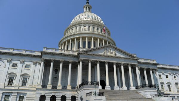 The US Capitol building is pictured in Washington, DC - Sputnik International