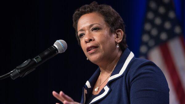 US Attorney General Loretta Lynch - Sputnik International