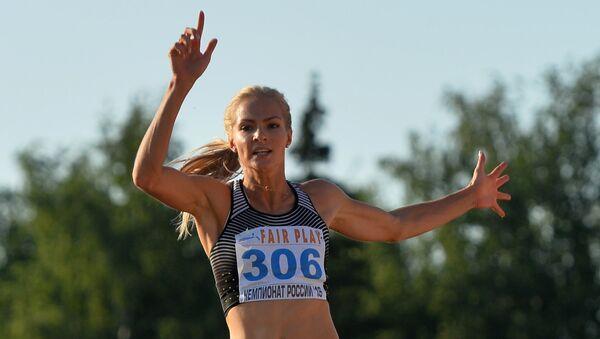 Russian long jump athlete Darya Klishina - Sputnik International