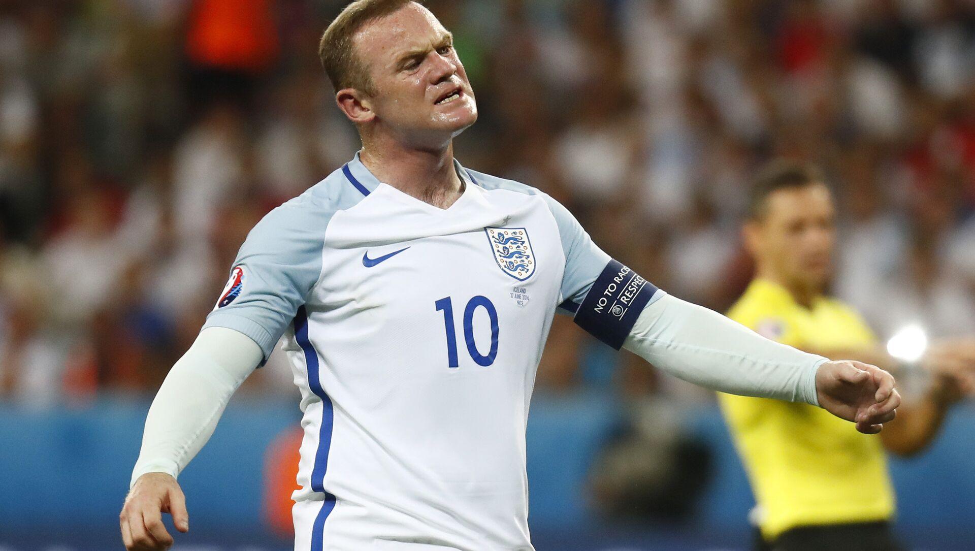 Football Soccer - England v Iceland - EURO 2016 - Round of 16 - Stade de Nice, Nice, France - 27/6/16 England's Wayne Rooney reacts - Sputnik International, 1920, 01.08.2021