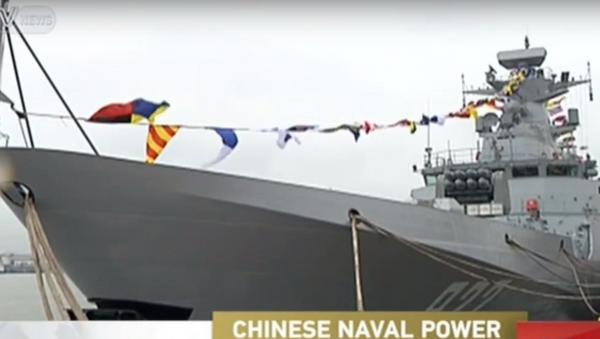 The Yinchuan enters service. - Sputnik International