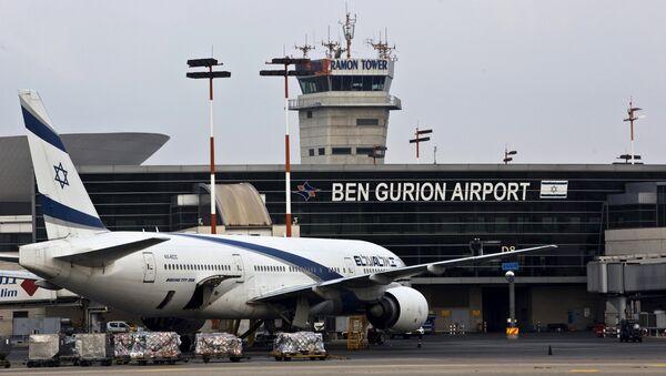 FIle photo of an EL AL Boeing 777 aircraft at Ben Gurion International Airport near Tel Aviv, Israel (File) - Sputnik International