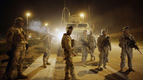 U.S. Army soldiers,Mosul, north of Baghdad, Iraq (File) - Sputnik International