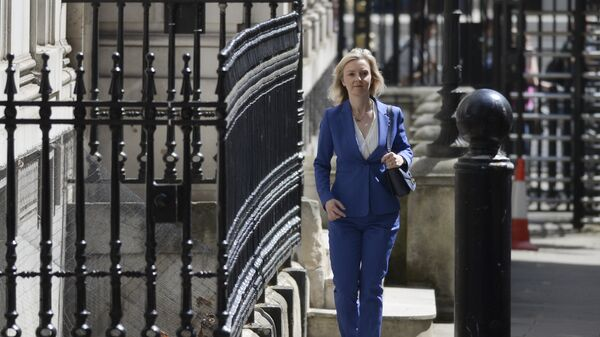 Conservative politician Liz Truss, who served as Environment Secretary under David Cameron, arrives at 10 Downing Street in central London on July 14, 2016 as cabinet appointments by new prime minister Theresa May are expected on her first full day in office - Sputnik International