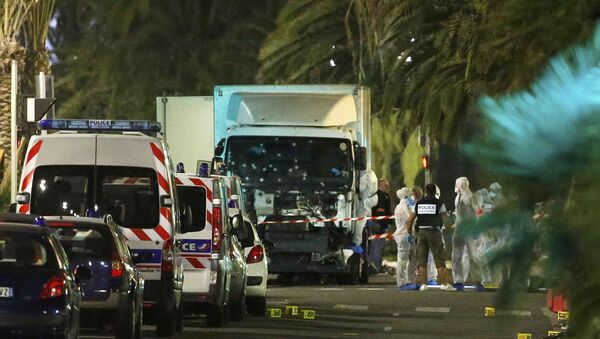 Truck Attack in Nice, France - Sputnik International