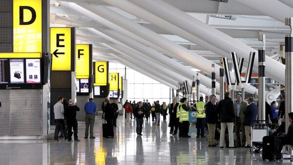 Heathrow airport's Terminal Five is pictured in London - Sputnik International