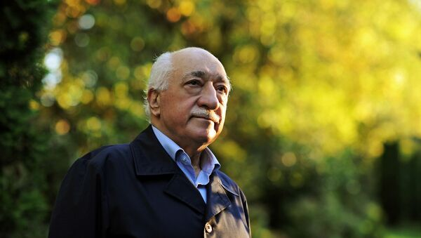 In this Sept. 24, 2013 file photo, Turkish Islamic preacher Fethullah Gulen is pictured at his residence in Saylorsburg, Pa. - Sputnik International