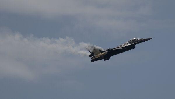 F-16 of the Turkish Air Force  - Sputnik International