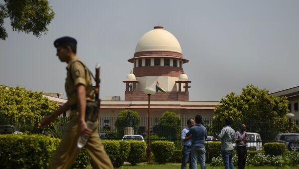 Indian Supreme court in New Delhi - Sputnik International