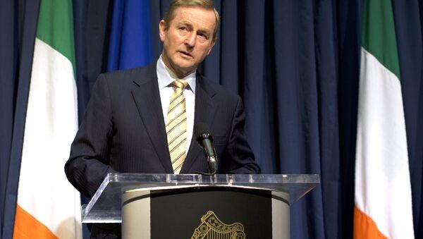 Ireland's Prime Minister Enda Kenny addresses journalists during a press conference in Dublin, Ireland, on June 24, 2016, following the result of the United Kingdom's EU referendum. - Sputnik International